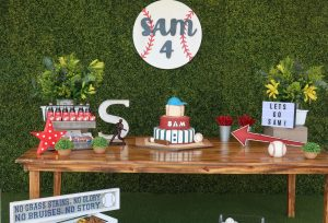 Wepah Baseball Themed Party