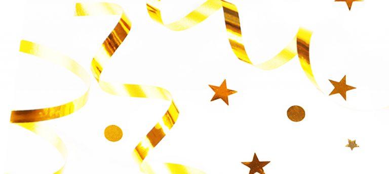 Stars Gold Confetti