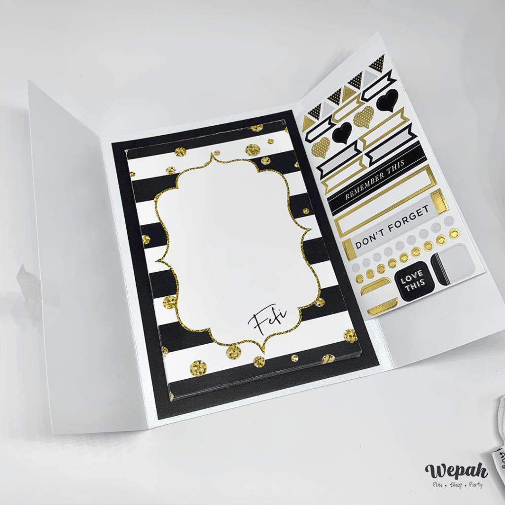 Onvite or  greeting card by Wepah