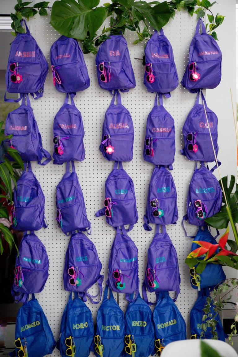 bolsos personalizados para cumpleaños de niños