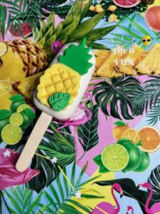 Tropical Birthday theme Palet