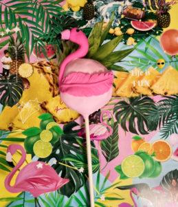 flamingo cakepop