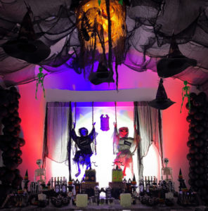 decorating for halloween party